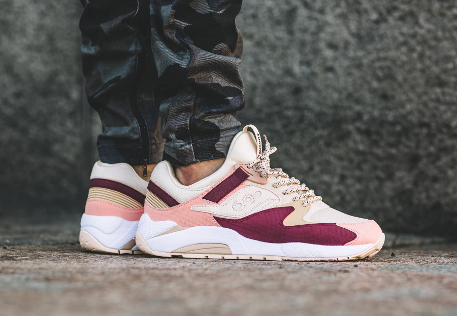 avis-basket-saucony-grid-9000-pastel-cream-red-pink-3