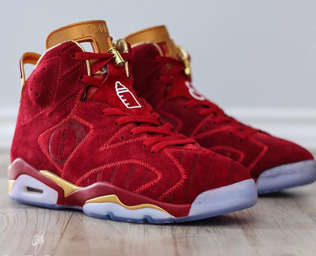 Air Jordan 6 Retro Doernbecher 'Blood Red'