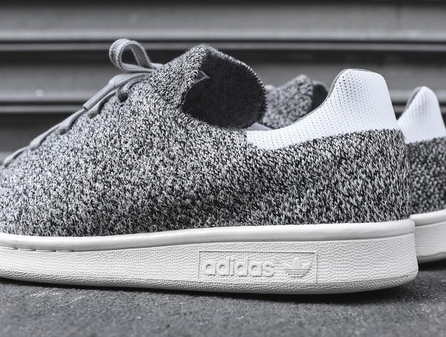 chaussure-adidas-stan-smith-primeknit-en-laine-grise-homme-et-femme-1