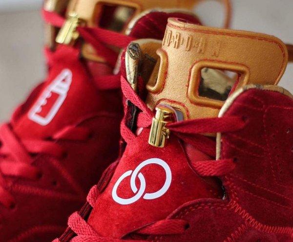 Air Jordan 6 'Blood Red'