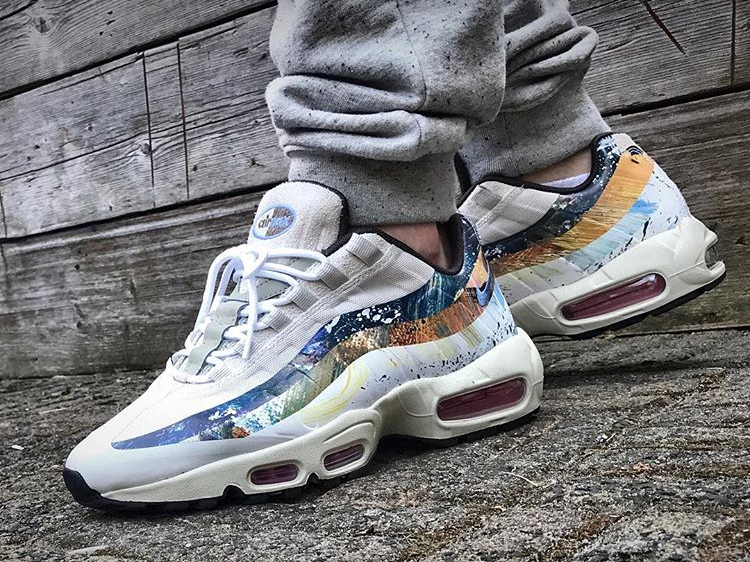 73f606b7be discount nike taps dave white for special air max 95 collaboration 5a522  d5df7; reduced air max 95 rabbit 24347 81869