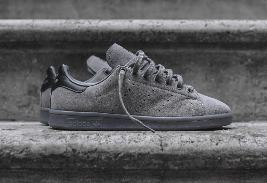 Adidas Stan Smith Suede 'Triple Solid Grey'