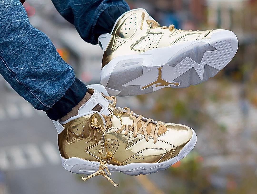 Air Jordan 6 'Metallic Gold' post image