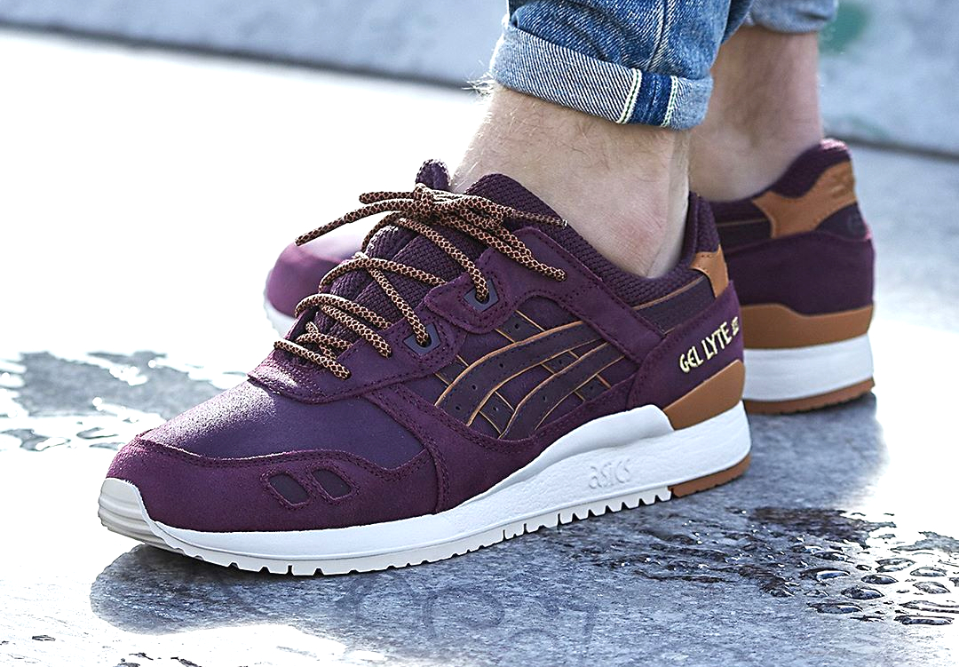 Asics Gel Lyte 3 Leather 'Rioja Red' (Winter Pack)