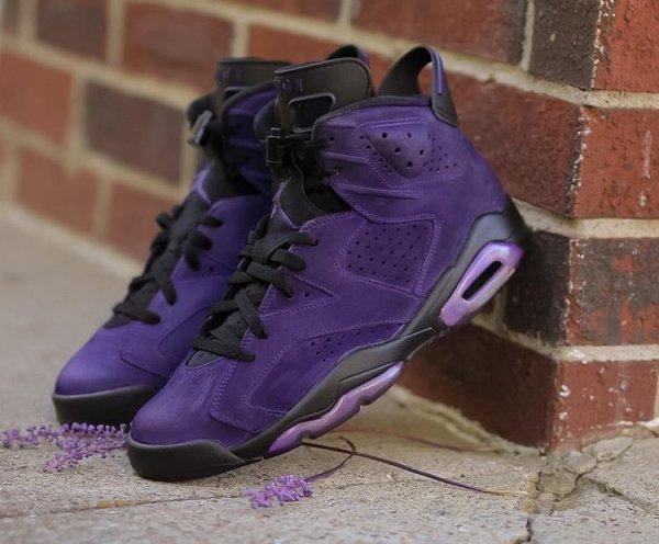 Air Jordan 6 Retro Suede 'What The Purples'