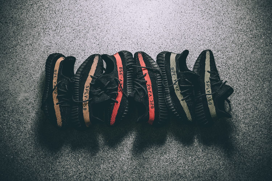Kanye West x Adidas Yeezy 350 Boost V2 SPLY (novembre 2016)