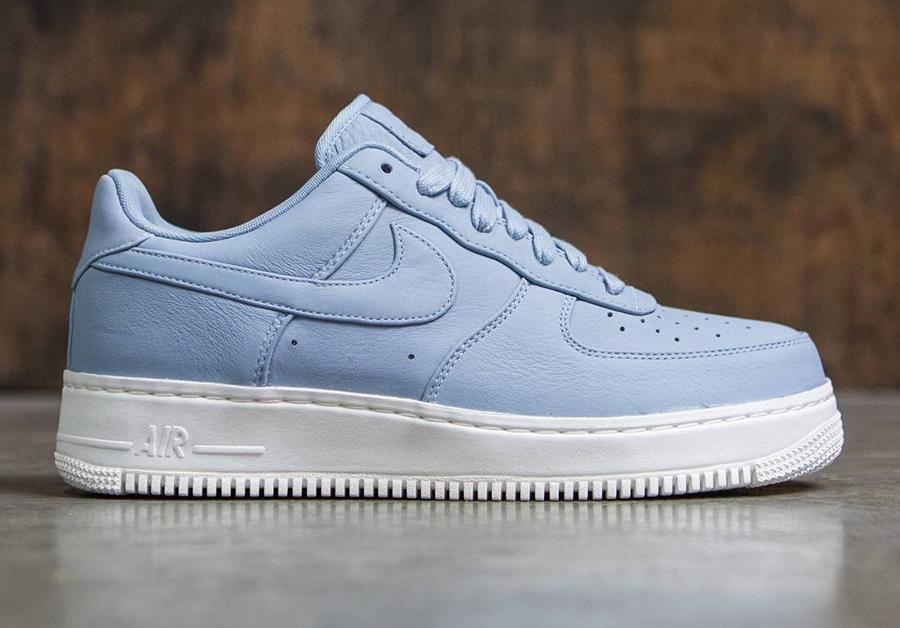 NikeLab Air Force 1 Low Deluxe 'Blue Grey'   Sneakers-actus