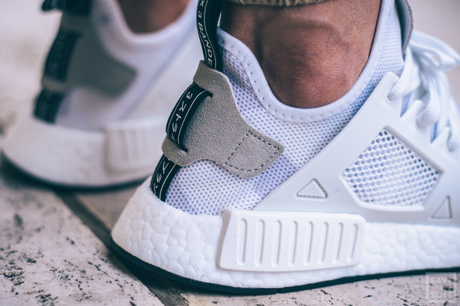 Adidas Nmd Blanche Et Militaire