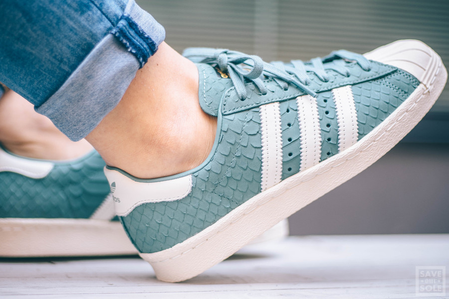 Adidas Superstar W 80's 'Snake Scales' Vapour Steel