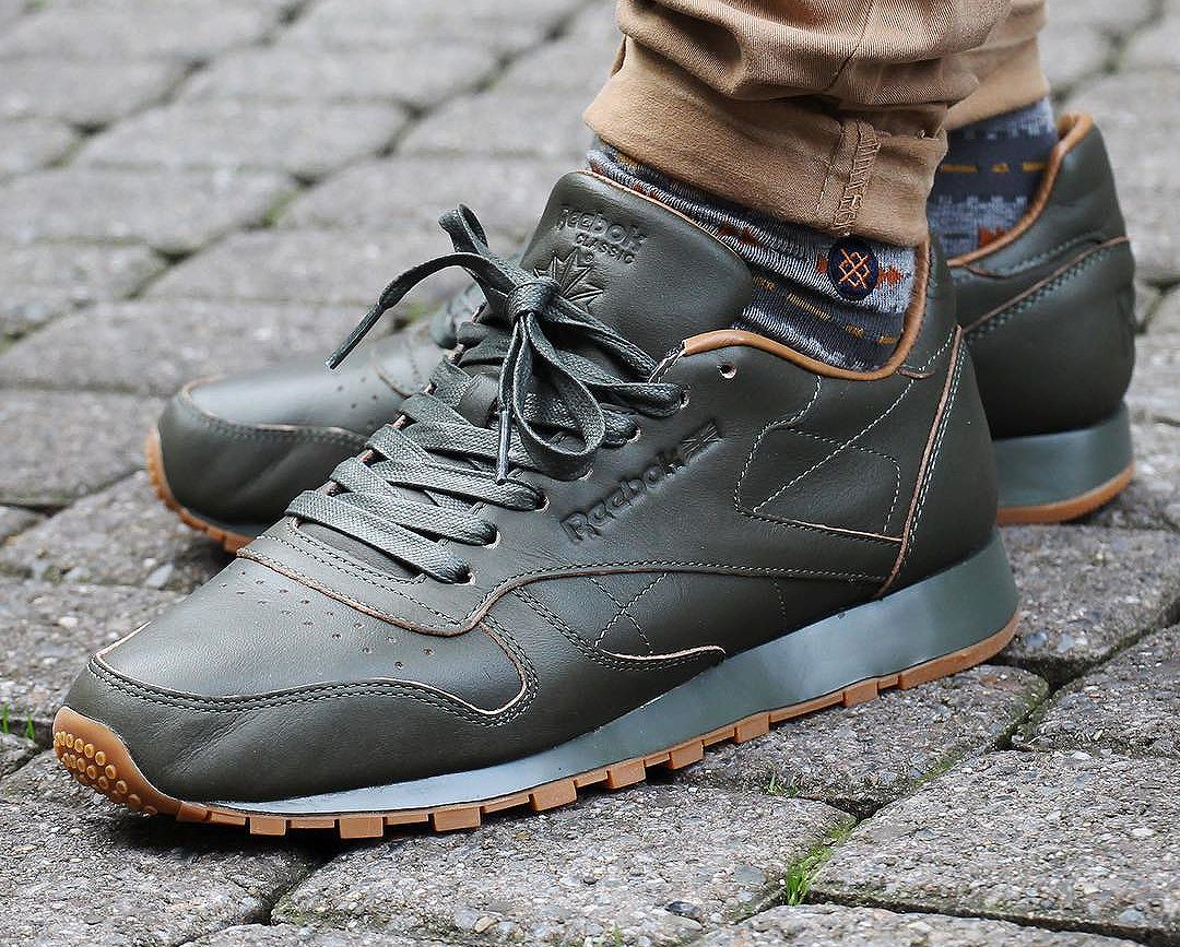 Kendrick Lamar x Reebok Classic Leather Lux 'Olive Gum' (Blue & Red) post image