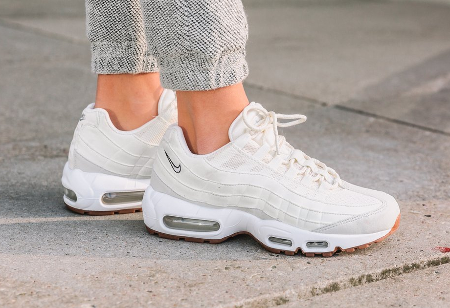 Nike Air Max 95 Brown White Red Veraldarvinir