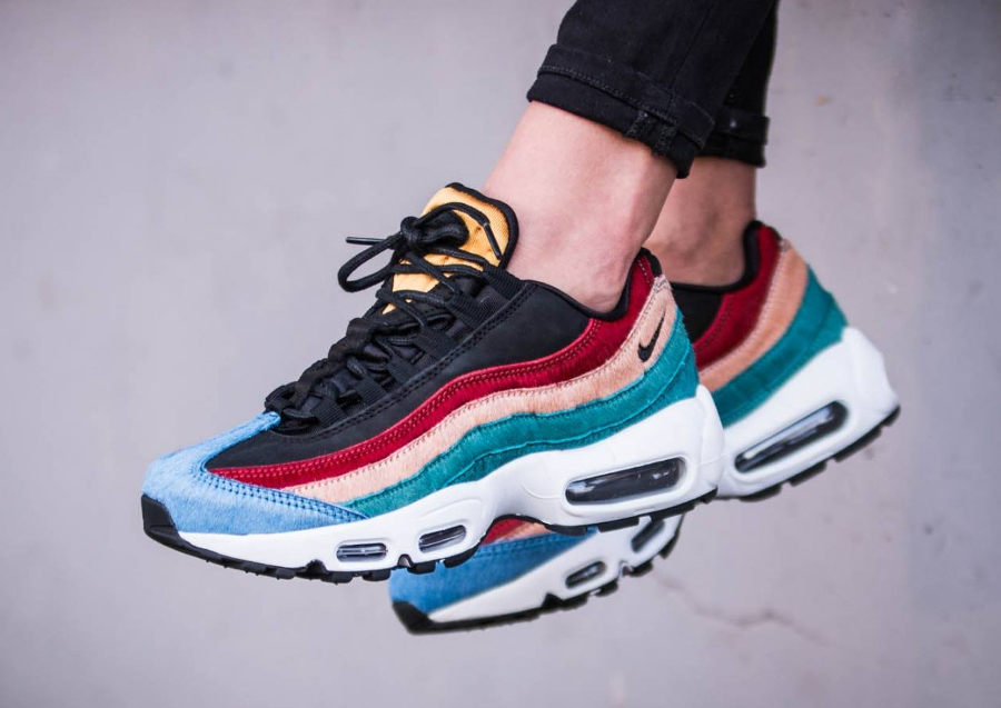 Nike Wmns Air Max 95 Premium 'Pony Hair' Multicolor