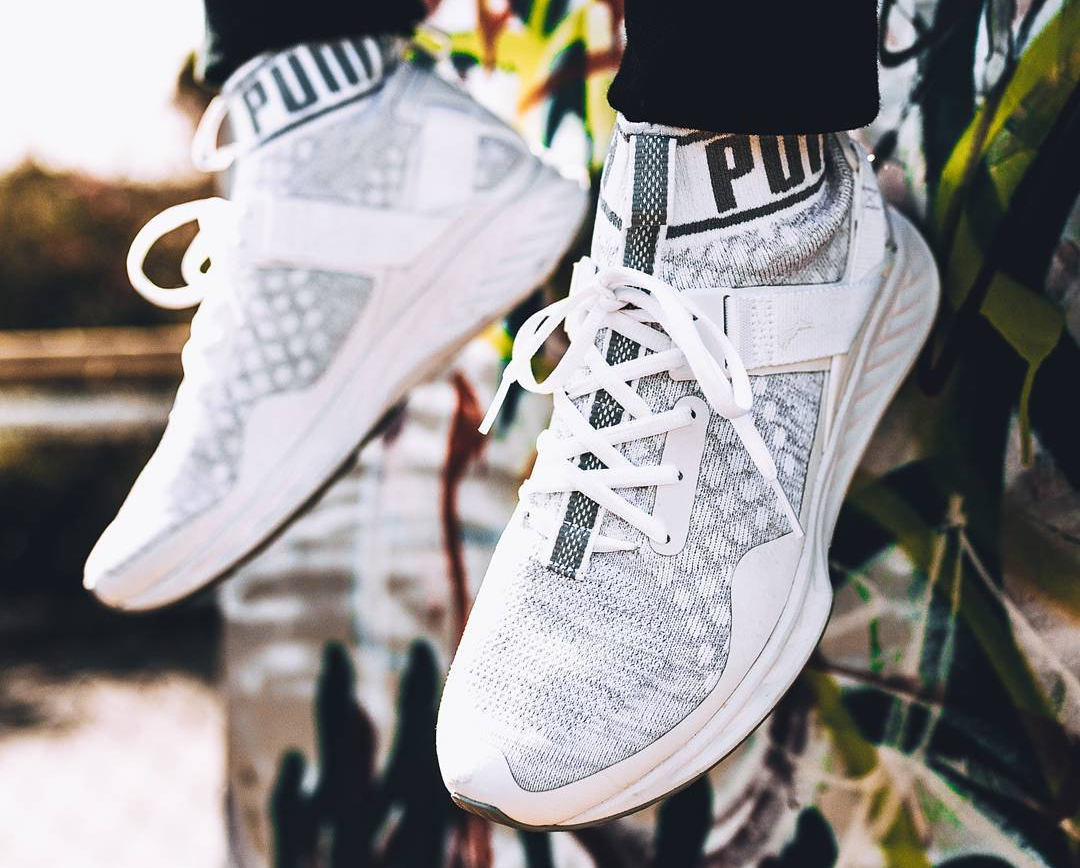 Puma Ignite Evoknit 'Triple White'