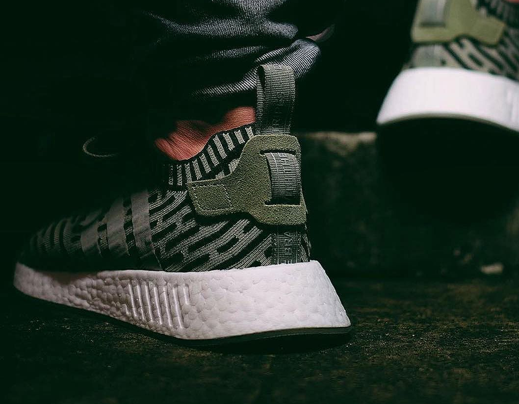 adidas-nmd-r2-pk-primeknit-trace-cargo-on-feet-2