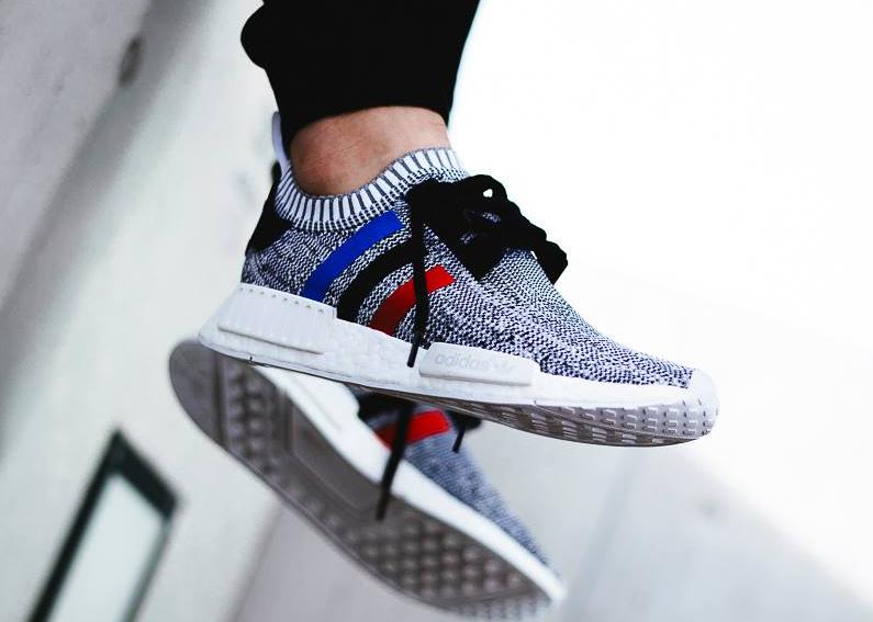 chaussure-adidas-nmd-r1-primeknit-tri-color-blanche-2