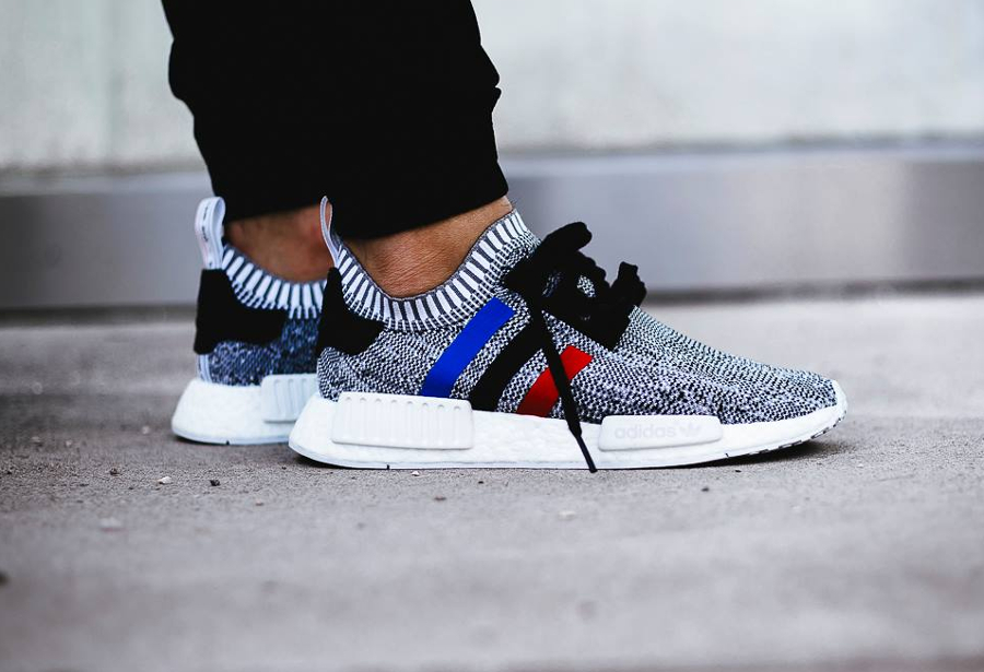 Adidas NMD R1 Tri Color White Viva La Kicks