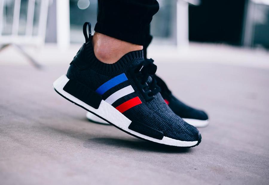 chaussure-adidas-nmd-r1-primeknit-tri-color-noire-3