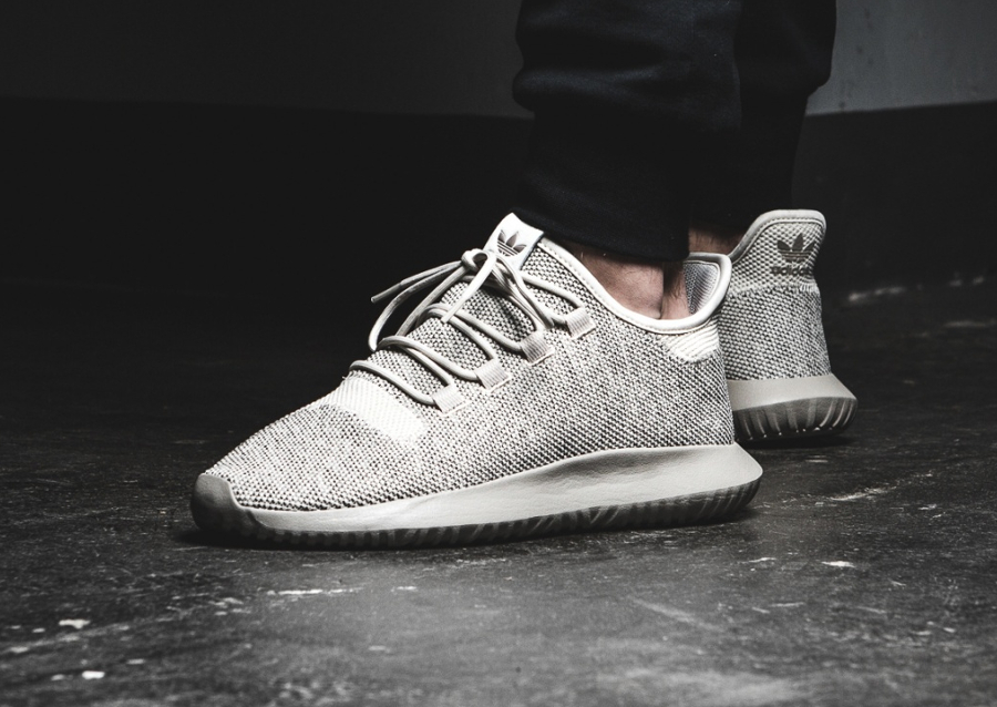 Adidas Tubular Shadow Knit Black White