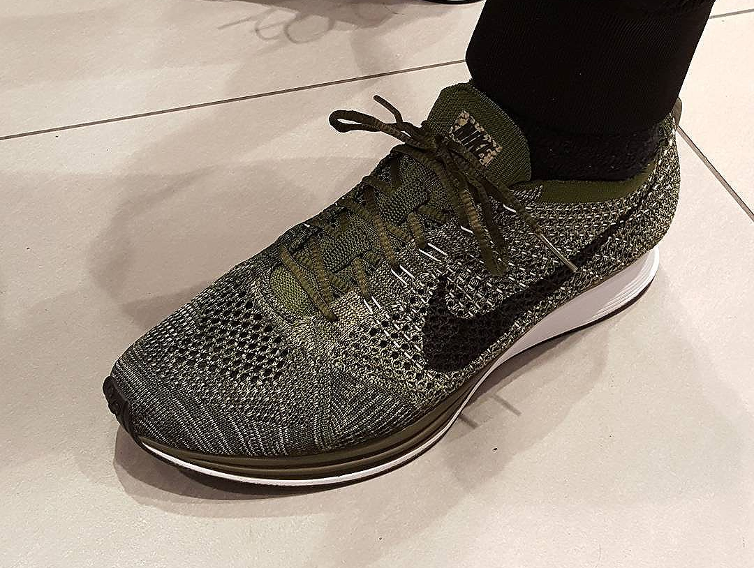 5d7b30bdf576 Color  Rough Green Black-Neutral Olive-Sequoia Style  nike flyknit racer  earth . ...