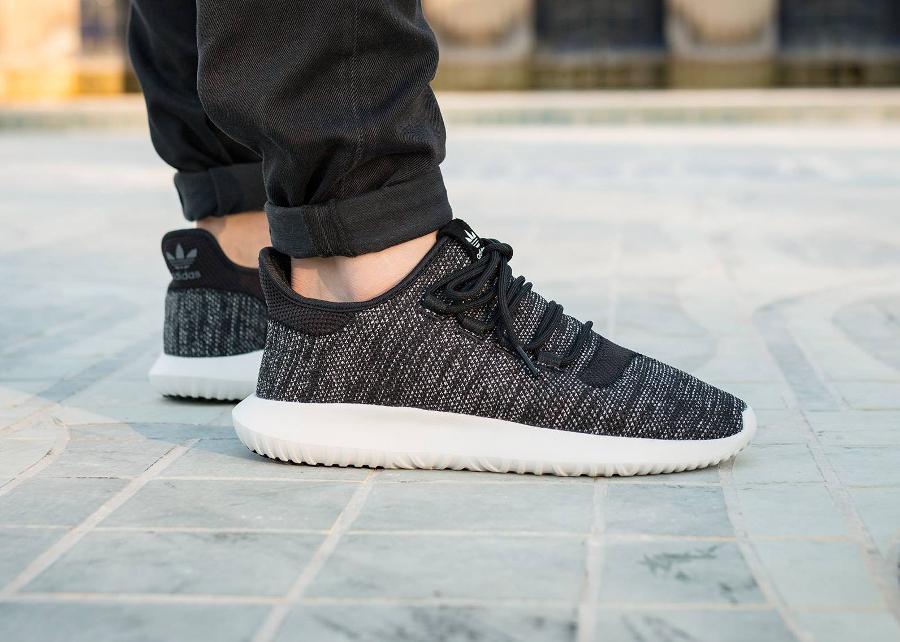 Adidas Tubular Runner Shadow Knit 'Oreo' Black White (homme)
