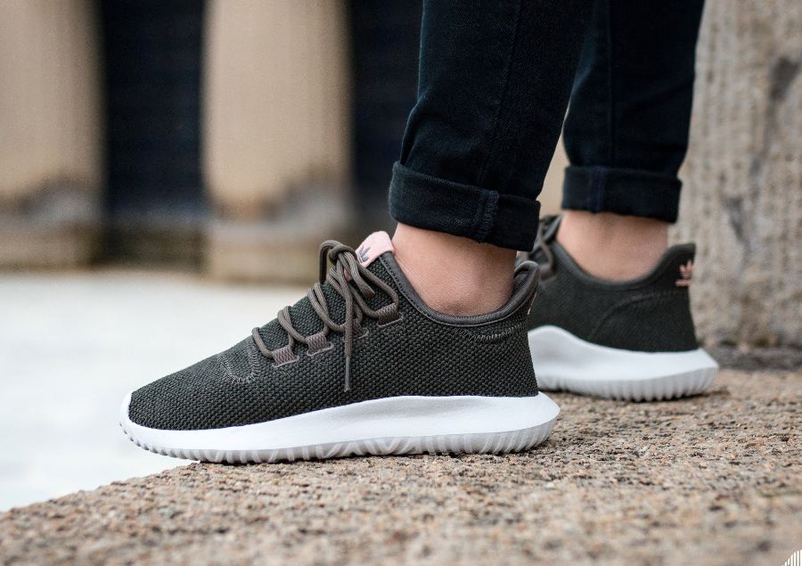 Adidas Tubular Shadow Grey And Black