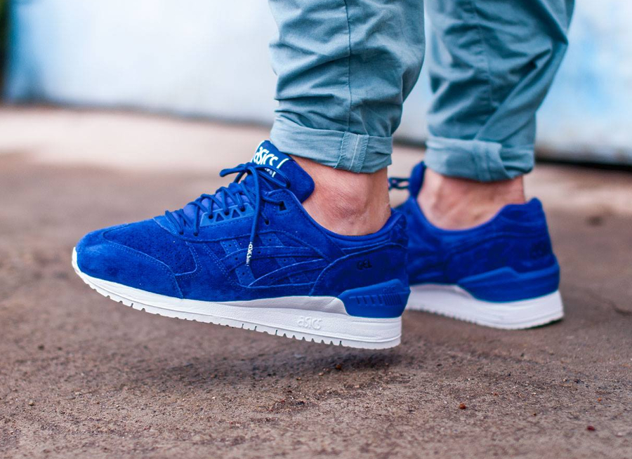 Asics Gel Respector Suede 'Blue Print' Virtual Space