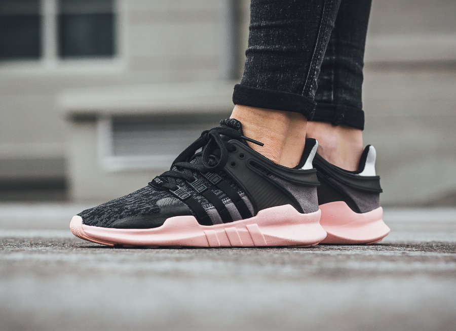 adidas Equipment Support ADV W noirrose Adidas EQT Femme