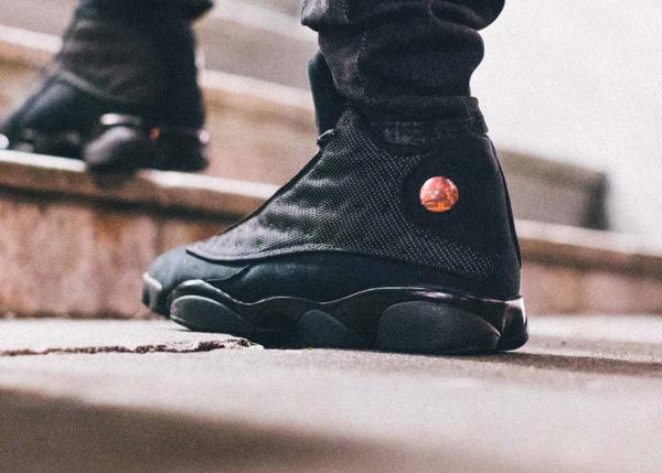 Basket Air Jordan 13 Chat Noir (6)