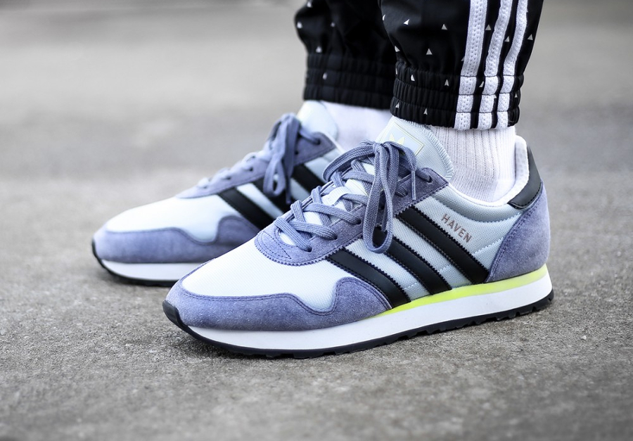 Adidas Originals Haven '70s 'Easy Blue/Yellow' (homme & femme)