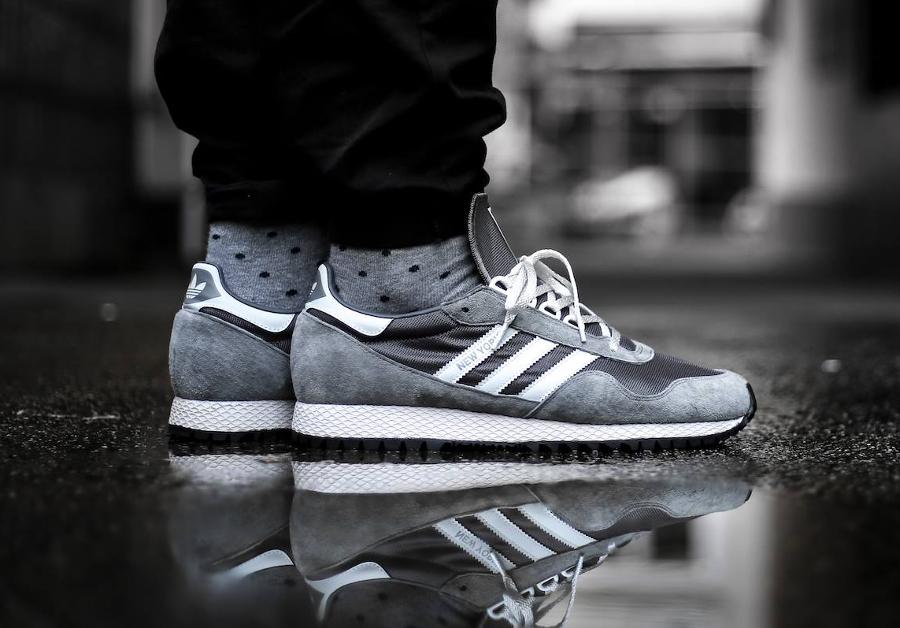 Adidas New York SPZL OG Granite (grise) Retro 2017