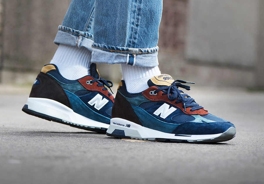 New Balance M 991.5YP Yard Pack 'Multicolor' (made in England)