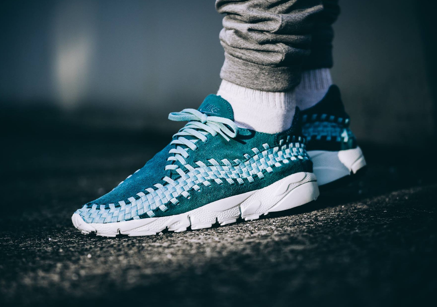 Nike Air Footscape Woven NM Premium 'Smokey Blue' (Bleu Clair)