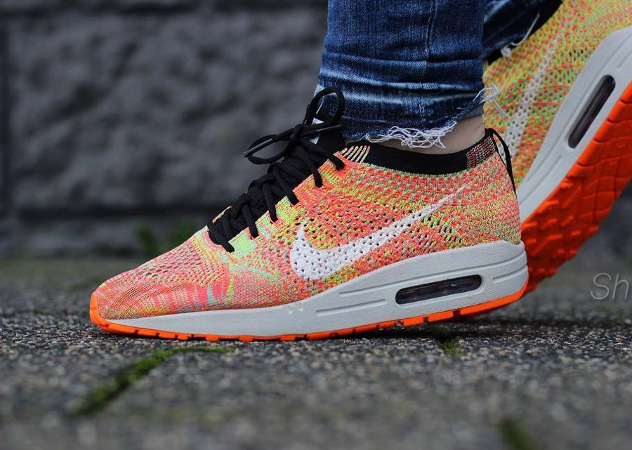 Nike Air Max 1 Flyknit Zoom Agility 'Multicolor' (femme)
