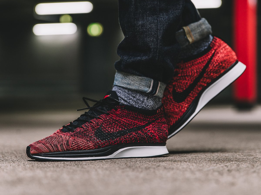 Nike Flyknit Racer 'CNY' University Red (Fire Rooster)