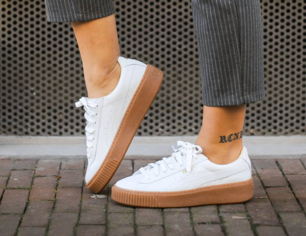 Puma Creepers Blanc Gomme