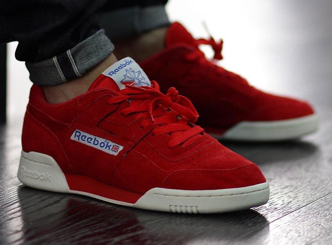 Reebok Workout Plus Vintage Suede Primal Red (daim rouge)