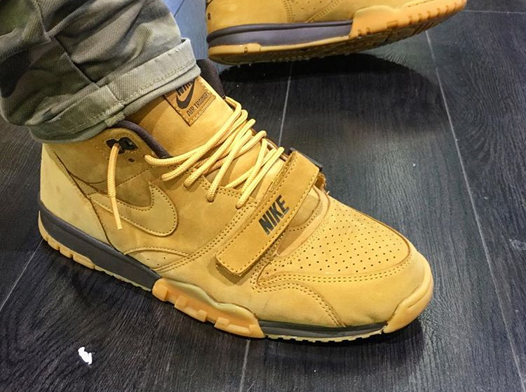 Nike Air Trainer 1 Mid Premium 'Wheat Flax' (#SDJ 20/01/2017)
