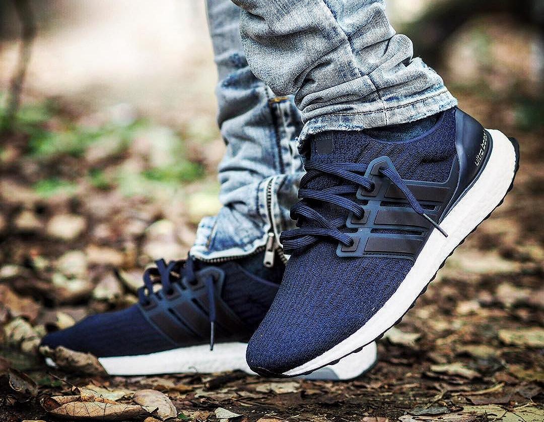 Adidas Ultra Boost 3.0 'Mystery Blue' (Primeknit bleu)