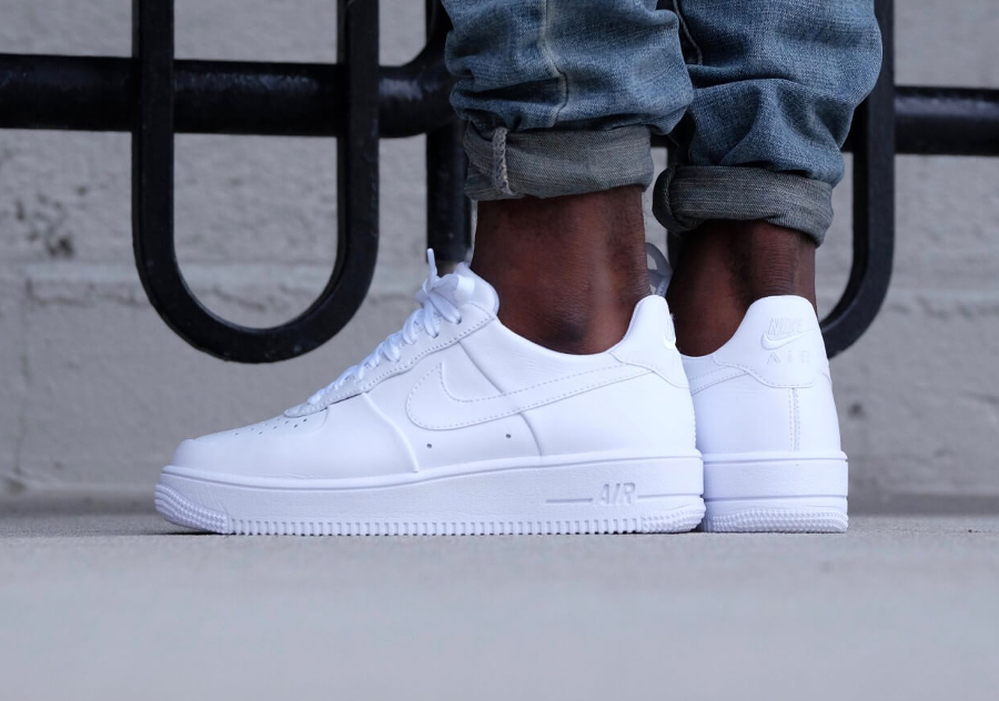 Nike Air Force 1 Low Ultraforce Leather Blanche 'Triple White'