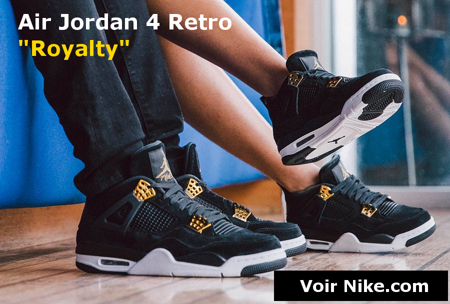 Bannière Air Jordan 4 Retro Royalty