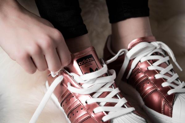 Basket Adidas Superstar W Boost Copper Metallic (3)
