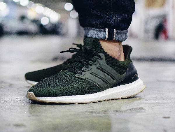 Basket Adidas Ultra Boost 3.0 Night Cargo (1)