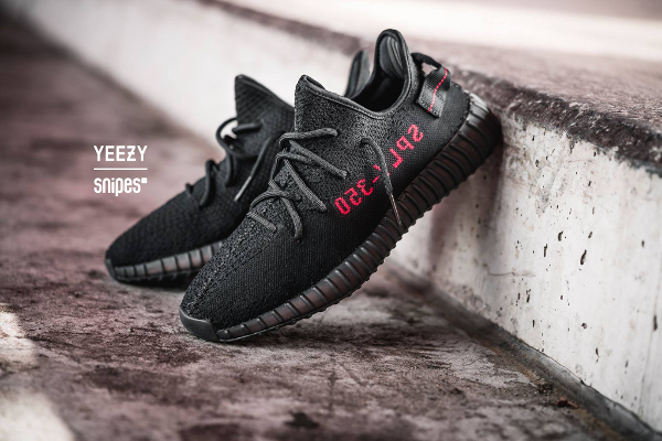 Yeezy 350 V2 'Bred' Core Black Red 2017 Sneaker Review On Feet
