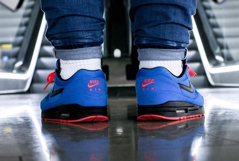Basket Nike Air Max 1 ID Essential Photo Blue (2)