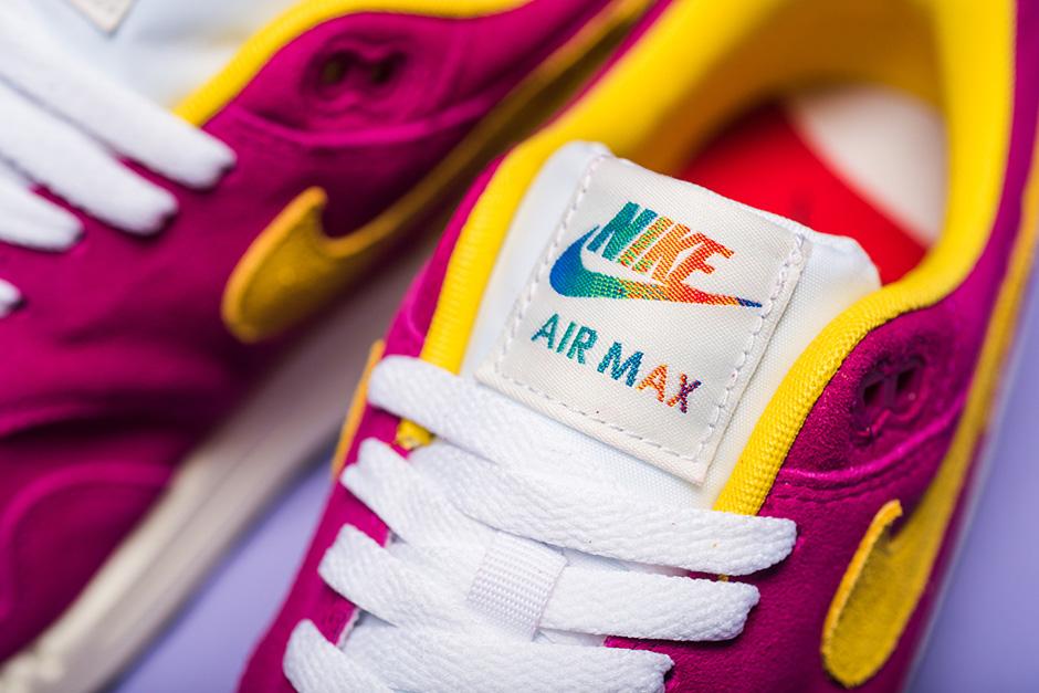 Basket Nike Air Max 1 PRM Suede Dynamic Berry (5)