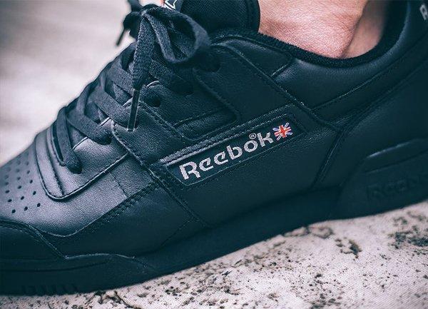 Reebok Workout Vintage Plus 'Black'