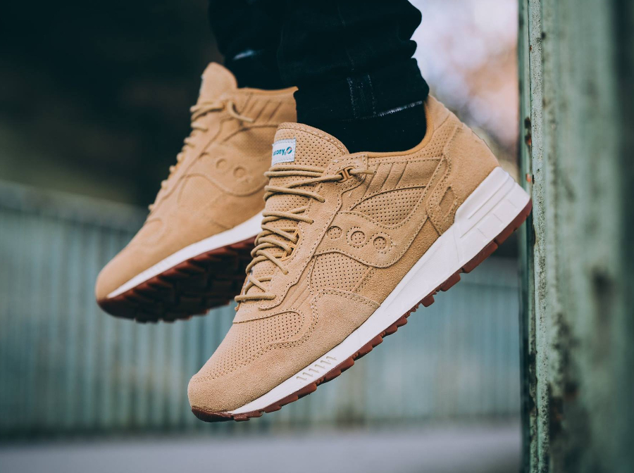 Saucony Shadow 5000 'Wheat Suede' (Perf pack)