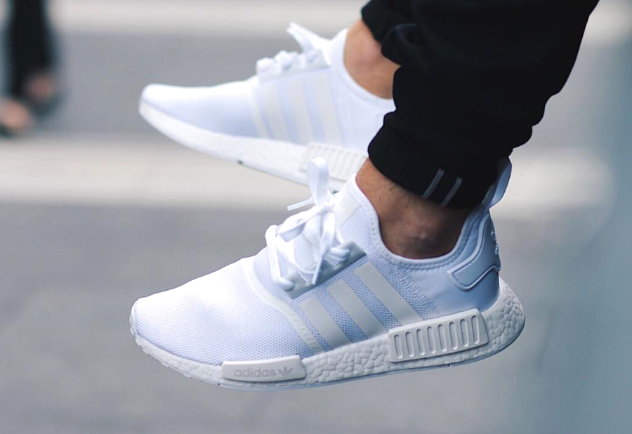 Adidas NMD R1 Runner Boost Blanche 'Triple White'