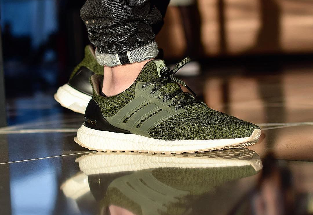Adidas Ultra Boost 3.0 Primeknit 'Olive' Night Cargo