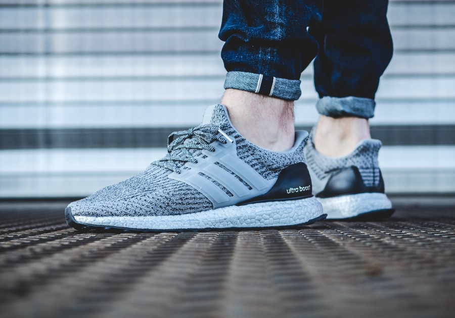 Adidas Ultra Boost 3.0 Primeknit 'Silver Pack' Super Bowl